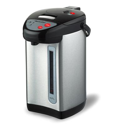 """מיחם חשמלי 24 כוסות נירוסטה 4.8 ליטר מאושר לשימוש ע""""י מכון צומת תוצרת KITCHEN CHEF דגם 5854"""