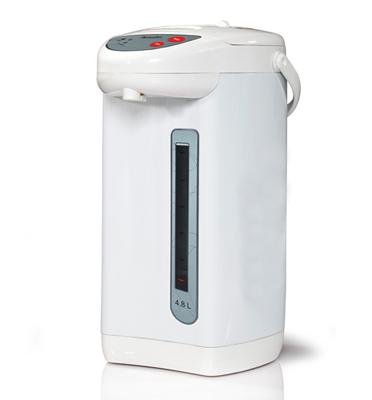 """מיחם חשמלי 24 כוסות לבן 4.8 ליטר מאושר לשימוש ע""""י מכון צומת תוצרת KITCHEN CHEF דגם 5853"""