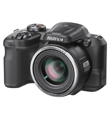 """מצלמה דיגיטלית מסך 3"""" 16MP זום X36 תוצרת FUJIFILM דגם S8600"""