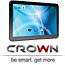 """טאבלט 10.1"""" עם מעבד 4 ליבות Quad Core  מערכת הפעלה Android 4.2 תוצרת CROWN דגם CR10A20-31"""