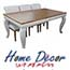 פינת אוכל נפתחת הכוללת שולחן מפואר + 6 כסאות בסגנון לואי מבית  HOME DECOR