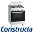 תנור אפיה משולב כיריים גימור נירוסטה מהסדרה החדשה תוצרת קונסטרוקטה דגם CH755356IL