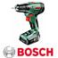 מקדחה/מברגה נטענת ליתיום תוצרת BOSCH  דגם PSR 1440-LI-2 + סט ביטים מתנה!