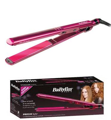 מחליק שיער מקצועי מסדרת PR0 230 STYLER תוצרת BABYLISS דגם  ST-282