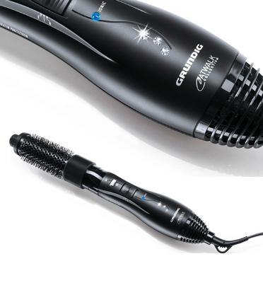 מעצב שיער בשילוב אבני סברובסקי תוצרת GRUNDIG דגם 6280-HS