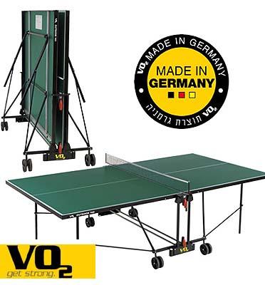שולחן טניס לשימוש חוץ  VO2 תוצרת גרמניה דגם 162OUT - מתצוגה כולל הובלה הרכבה וסט מחבטים וכדורים