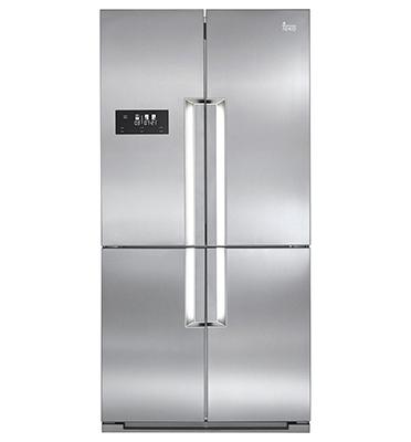 מקרר 4 דלתות 620 ליטר בגימור נירוסטה תוצרת Teka דגם NFE910X