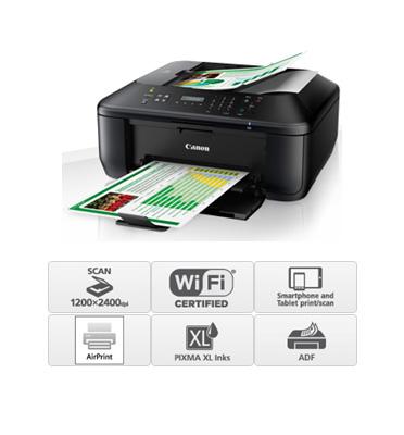 מדפסת אלחוטית עוצמתית ומעוצבת תוצרת CANON דגם PIXMA MX495