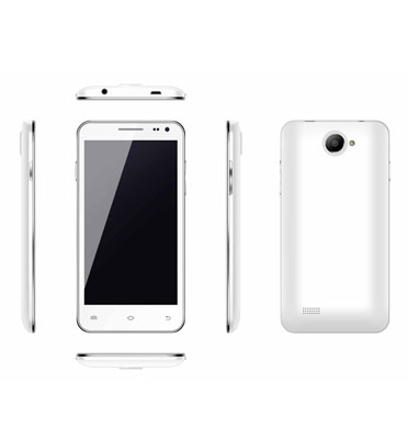 """סמרטפון מסך מגע 5"""" 4GB IPS עם מערכת 4.2 ANDROID כולל כיסוי מתנה תוצרת AEG מבית קרט ניופאן"""