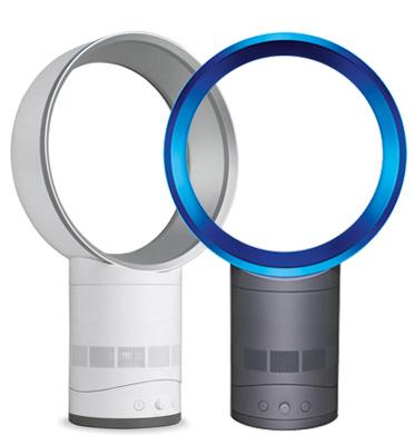 """מאוורר סילוני עגול 10"""" Air Multiplier תוצרת Dyson בשיטת הכפלת אוויר דגם AM01-10 מתצוגה/ עודפים"""