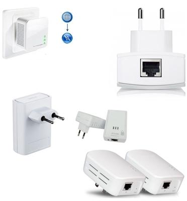 מתאם רשת על גבי החשמל להעברת רשת האינטרנט מבית GRANDTEC דגם tnda1