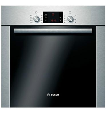 תנור אפיה בנוי בגימור נירוסטה תוצרת בוש דגם HBA23B253E