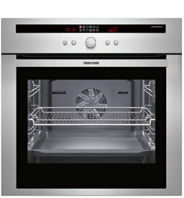 תנור אפיה בנוי פירוליטי 10 תכניות עיצוב נירוסטה ייחודי תוצרת קונסטרוקטה דגם CF234753
