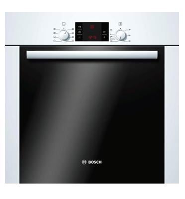 תנור אפיה בנוי 62 ליטר צבע לבן תוצרת בוש דגם HBA23B223E