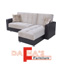 מערכת ישיבה פינתית נפתחת למיטה עם ארגז מצעים דגם לוטם