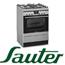 תנור אפיה משולב כיריים עם משטח זכוכית בגימור נירוסטה תוצרת SAUTER דגם SAF1067