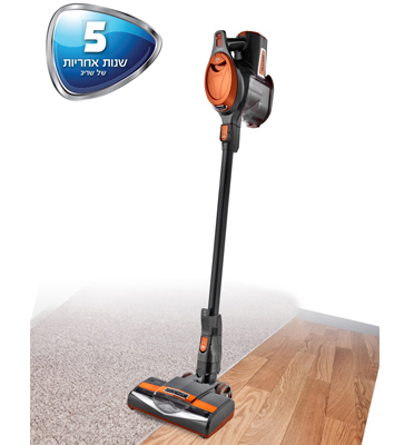 """שואב אבק ROCKET קל משקל 3.6 ק""""ג בלבד! דגם HV300 תוצרת SHARK"""