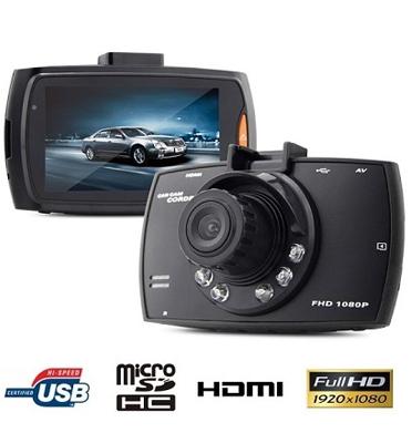 מצלמת דרך לרכב באיכות 1080P צג ''2.7 בעל חיישן G-Sensor כולל תפריטים בעברית מבית MATRIX דגם G30