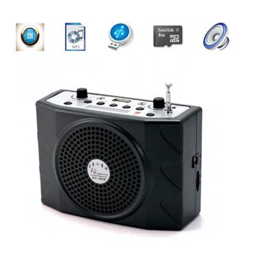 בידורית ניידת/חגורת הגברה חזקה במיוחד עם נגן MP3 מבית Matrix Electronics דגם KU-898