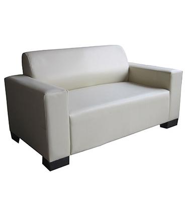 ספה דו מושבית מסוגננת ריפוד דמוי עור מבית HOME DECOR דגם סופה