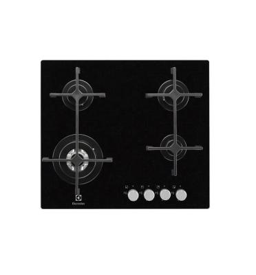 כיריים גז משטח זכוכית 4 להבות תוצרת Electrolux דגם EGW6343NOK