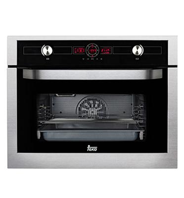 """תנור אפיה בנוי בגובה 45 ס""""מ 10 תוכניות סדרת Hydro Clean תוצרת Teka דגם HKL870"""