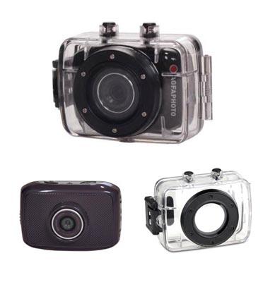 מצלמת אקסטרים 5MP וידיאו HD תוצרת AGFAPHOTO דגם WILD FUN