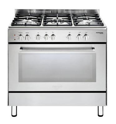 תנור משולב כיריים מפואר 5 להבות גז תוצרת Delonghi דגם NDS928X