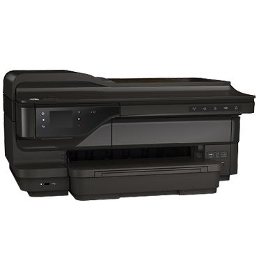 מדפסת משולבת הזרקת דיו HP e-All-in-One תוצרת HP דגם Officejet 7612