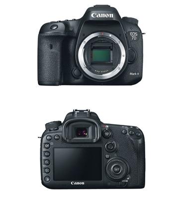 מצלמה 20.2MP וידיאו FHD תוצרת .Canon דגם EOS 7DII