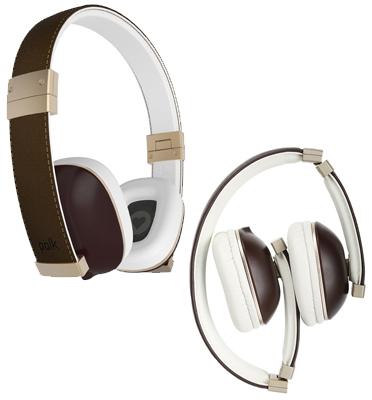"""אוזניות מתקפלות קומפקטיות על האוזן מבית POLKAUDIO ארה""""ב דגם HINGE"""