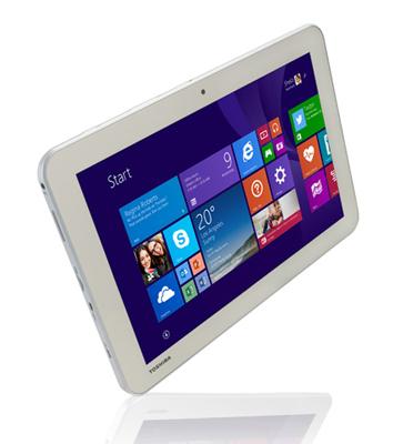 """טאבלט 10"""" מערכת הפעלה Windows 8.1 with Bing תוצרת TOSHIBA דגם ENCORE WT10-A-106"""