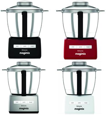 """מעבד מזון """"מג'ימיקסר"""" משולב מיקסר מבית MAGIMIX דגם CS-6200XLD כרום (נירוסטה)"""
