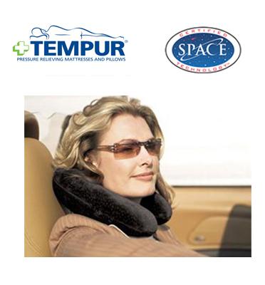 כרית לצוואר מבית הולנדיה דגם TEMPUR TRANSIT