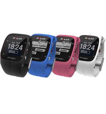 שעון דופק עם GPS מובנה כולל רצועת דופק ומשדר מקודד תוצרת POLAR דגם M400 +מתנה!