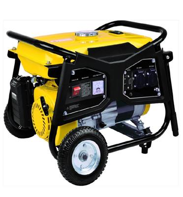 גנרטור עוצמתי על גלגלים 5500W כולל סטרטר ומצבר להנעה קלה ונוחה!!מבית HYUNDAI דגם HD5800