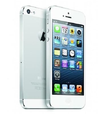 סמארטפון 16GB תוצרת Apple דגם iPhone 5 מחודש!