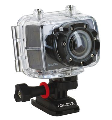מצלמת אקסטרים FULL HD סטילס ווידאו מארז עמיד במים תוצרת NILOX דגם FOOLISH SPECIAL