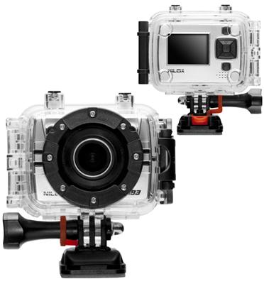 מצלמת אקסטרים FULL HD סטילס ווידאו מארז עמיד למים תוצרת NILOX דגם F- 60 Marc Marquez