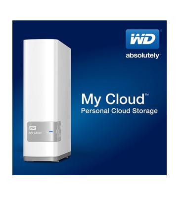 כונן קשיח חיצוני My Cloud 6TB עם חיבור USB 3.0  מבית WD דגם WDBCTL0060HWT