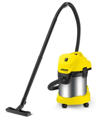 שואב אבק יבש / רטוב הספק 1400 W תוצרת KARCHER דגם WD 3 Premium