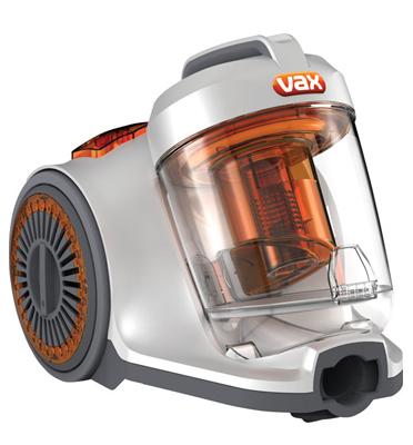 שואב צילינדר צקלוני קומפקטי הספק מנוע 2000W תוצרת VAX דגם C87-P5-BI