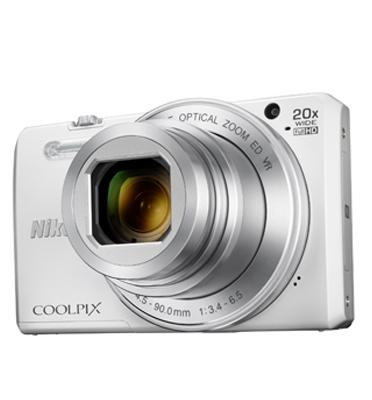 מצלמה תמיכה מובנית ב-Wi-Fi® וב-NFC עם זום אופטי X20 תוצרת NIKON דגם COOLPIX S7000