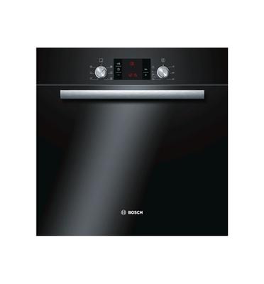 תנור אפיה בנוי בצבע שחור הדור החדש תוצרת בוש דגם HBA23B260Y
