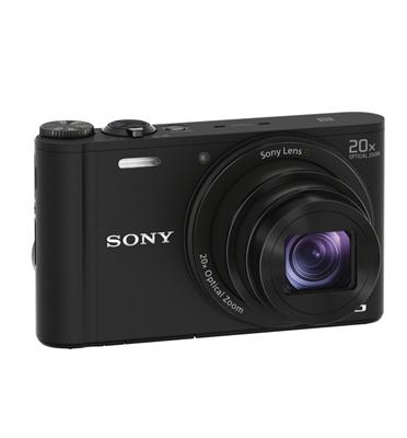 מצלמת סטילס 18.2 מיליון מגה פיקסלים עם תקשורת WIFI תוצרת SONY דגם DSC-WX350 + מתנה