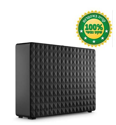 """דיסק קשיח חיצוני 3.5"""" בנפח 2000GB בחיבור USB 3.0 מסדרת Expansion מבית SEAGATE דגם STEB2000200"""