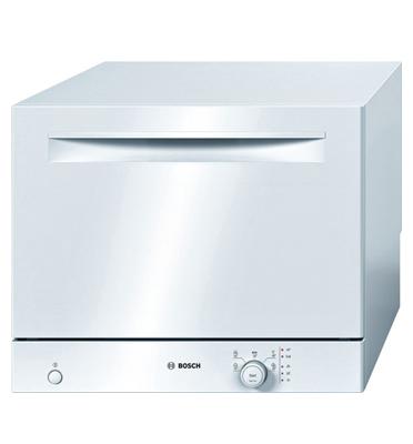 מדיח כלים קומפקטי על השיש ל-6 מערכות כלים תוצרת בוש בצבע לבן דגם SKS50E32EU