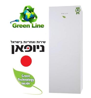 מקפיא 7 מגירות 261 ליטר No-frost תוצרת Green Line מבית ניופאן דגם GRL395