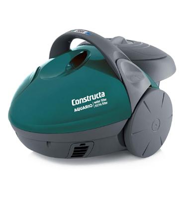 שואב אבק 1500W עם פילטר מים משולב מפוח תוצרת CONSTRUCTA דגם Aquario CVC712SK