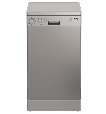 מדיח כלים צר ל- 10 מערכות כלים תוצרת BEKO. דגם DFS05010